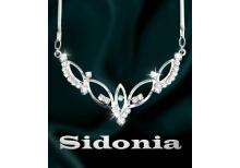 Sidonia - strassový náhrdelník