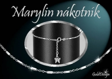 Marylin - nákotník rhodium